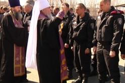 Міліціянтів благословив митрополит