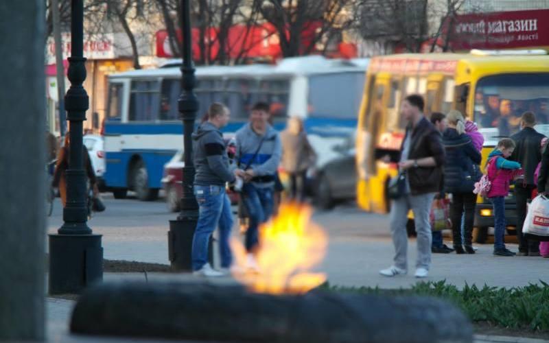 Во сколько обходится газ для Вечного огня в Павлограде (ВИДЕО)