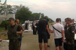 Пригода на блокпосту Павлограда
