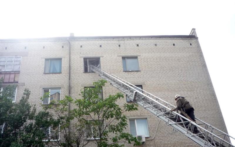 Пожежники врятували двох пенсіонерів