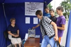 В Павлограді з'явився намет добродійності