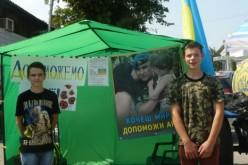 Павлоград активно допомагає військовим та переселенцям.