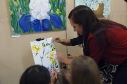Павлоградські митці відзначили День художника створенням картини осені