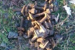 Павлоградець розкрадав деталі колії