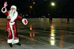 У Павлограді відкрили льодову ковзанку