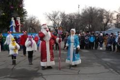 Біля головної ялинки Павлограда діти побажали миру та спокою в Україні