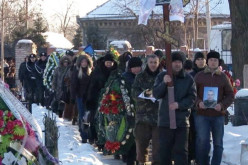 В Павлограді поховали бійця АТО