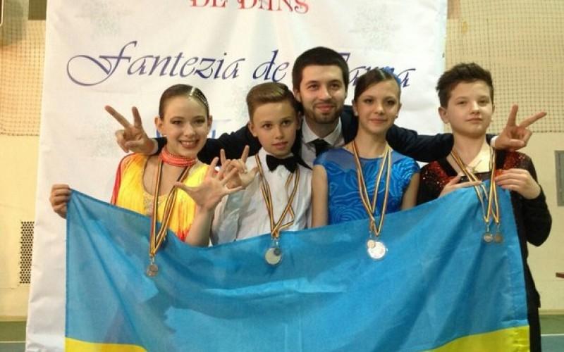 Танцюристи «Алегро» привезли з Молдови срібло та бронзу