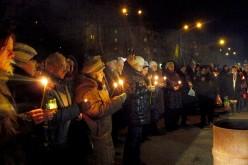 Павлоград вшанував пам'ять Небесної Сотні (ФОТО та ВІДЕО)