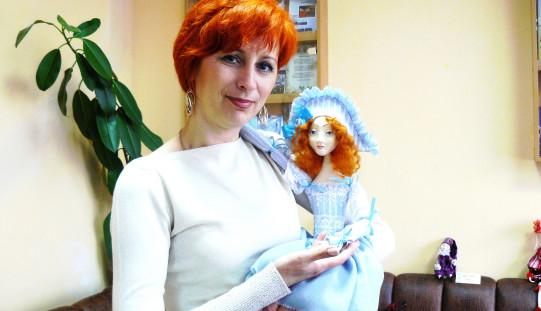 В библиотеке откроется выставка авторской куклы