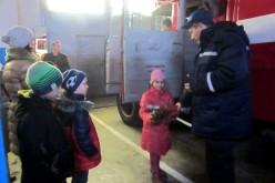 Павлоградські рятувальники запросили в гості жителів модульного містечка (ФОТО)