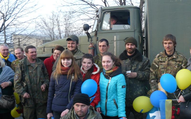 Павлоград зустрів бійців АТО (ФОТО та ВІДЕО)