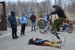 Павлоградські екстремали відкрили велосезон-2015 (ФОТО)
