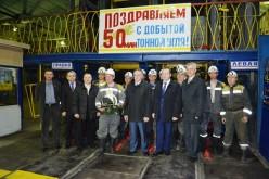 Гірники шахти «Самарська» видобули 50-мільйонну тонну вугілля