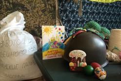 Волонтери передали солдатам великодні подарунки (ФОТО)