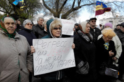 У Павлограді пройшов мітинг проти підвищення тарифів