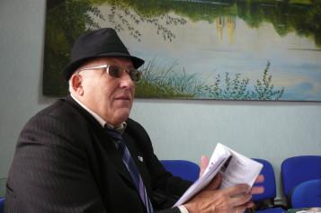 Почесний голова єврейської громади Західного Донбасу Леонід Сердюковський: «Є те, що робить нас людьми. Це — традиція»