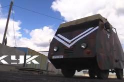 Вербські волонтери подарували спецназу пересувний блокпост (ВІДЕО)