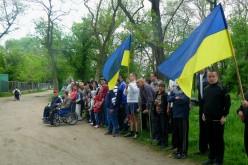 У Павлограді пройшла естафета на інвалідних візках (ФОТО)