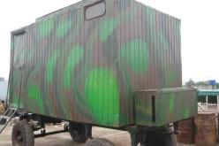 Волонтери з Вербок виготовили пересувну лазню для воїнів АТО