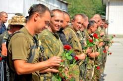 160 бійців повернулися із зони АТО в Павлоград