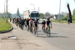 Павлоградські велосипедисти влаштували велопробіг (ФОТО)