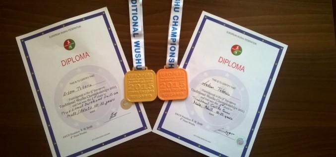 Павлоградець виборов золоту і бронзову медалі на Чемпіонаті Європи з ушу