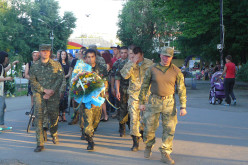 У Павлограді вшанували пам'ять загиблих у літаку ІЛ-76 (ФОТО і ВІДЕО)