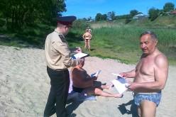 Рятувальники нагадали про безпеку поводження на воді (ФОТО)