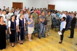 У міськвиконкомі нагородили воїнів АТО з нагоди Дня Конституції України
