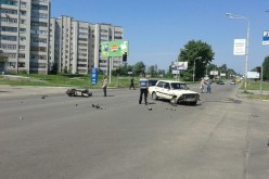 У Павлограді в ДТП постраждав водій скутера