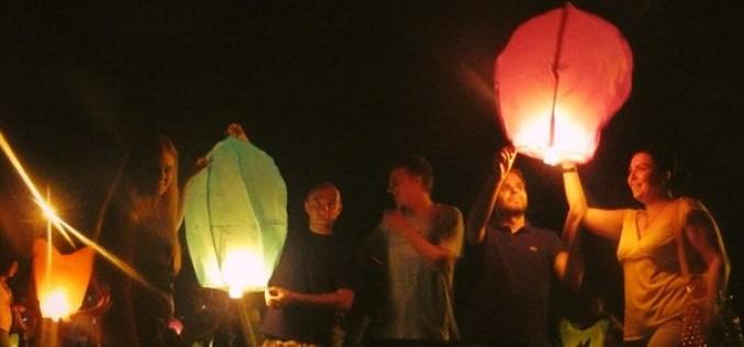 Сотні павлоградців запускали небесні ліхтарики