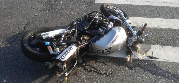 С начала года на Павлоградщине пострадали 6 водителей мототраспорта