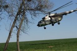 Вертоліт влаштував дрифт на трасі Дніпропетровськ-Харків (ВІДЕО)