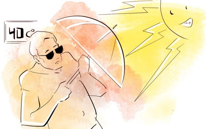 Сонце «б'є» по голові? Витримай спеку та вбережи себе від геліозу!