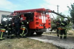 У Павлограді перевіряли, чи зможуть загасити цистерну пального