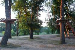 У парку відкриють мотузкове містечко і волейбольний майданчик