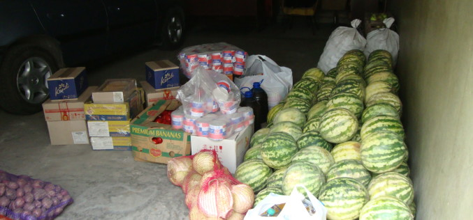 Волонтери дякують фермерам Павлоградщини за продукти