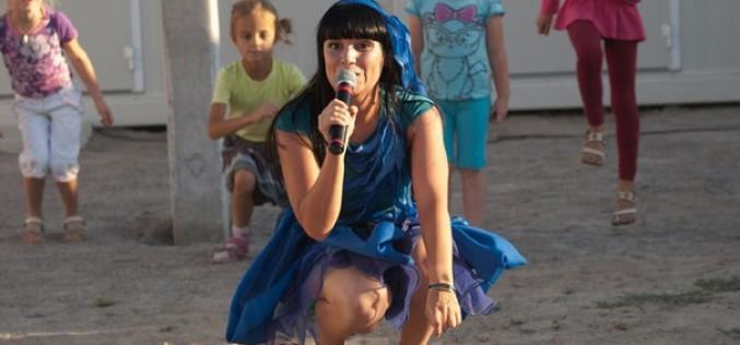 У модульному містечку Павлограда влаштували свято для дітей-переселенців