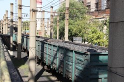 Приднепровская железная дорога наращивает объемы перевозки угля с Западного Донбасса