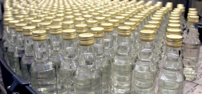 На Днепропетровщине изъяли  400 л спирта  и 10 тыс. бутылок водки