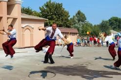 У Петриківці побувала павлоградська Школа Козацького Гарту
