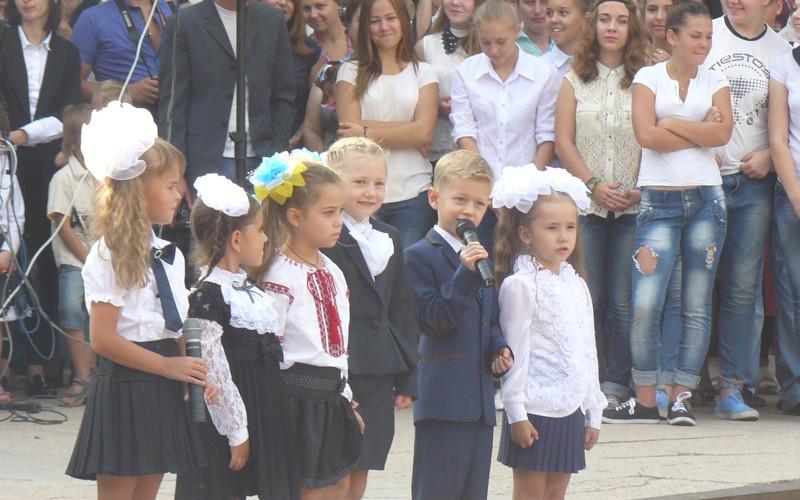«Бебі-бум»: у школи Павлограда пішло на 400 першокласників більше