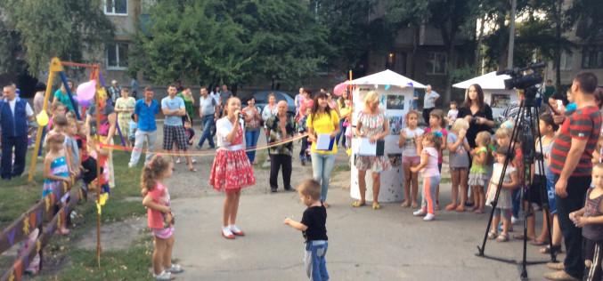 Спортивно-игровую площадку открыли на посёлке им. 18 сентября