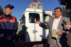 Вместо автовышки КП «Павлоград-Свет» получил «Газель»