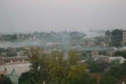 На прошлой неделе павлоградцы приняли туман за дым