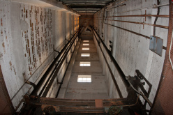 В одной из девятиэтажек Павлограда загорелся неисправный лифт