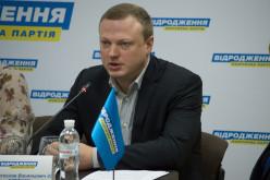 Олейник идет на выборы с партией «Відродження»