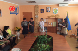 Лидия Бобровницкая получила знак «За заслуги перед городом»