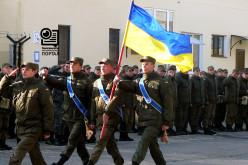 В воинской части № 3024 прошел праздничный митинг ко Дню защитника Украины (ФОТО)